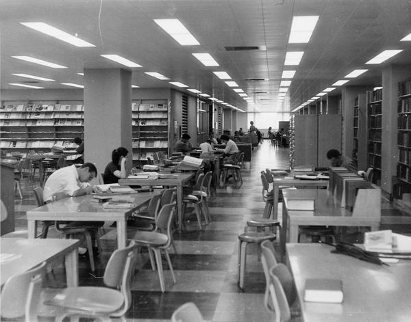 Strozier Library, 1957