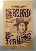 Playbill for The Beard